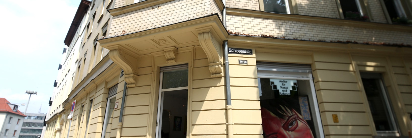 Eingang Atelier AKRS in Stuttgart