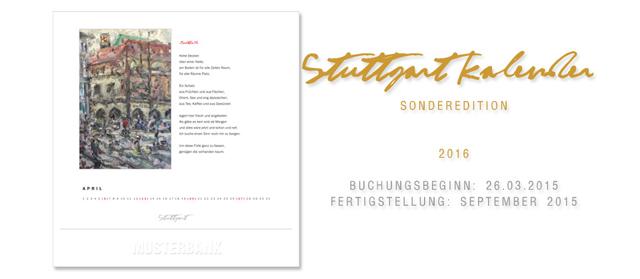 Stuttgart Kalender Ad