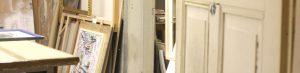 Rahmen in der Werkstatt AKRS Stuttgart